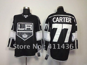 LA Kings #77 Carter Black Hockey jersey wholesale free shipping