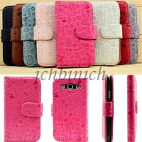 Cute Girl Flip Leather Case Cover PU LEDER SCHUTZ HUELLE HANDY ETUI TASCHEN for Samsung Galaxy GT-S3 i9300 i9305 T999 i747 New