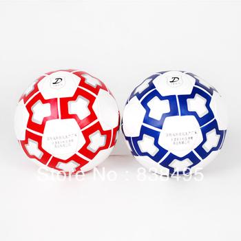 Free shipping Chinese brand quality soccer football Lisheng5#  football glossy PU sewing machine football