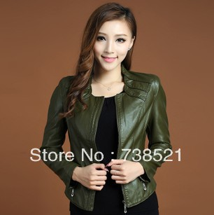 Free Shipping Women's sheepskin genuine leather jacket coat Natural leather slim model leather jacket winter leather jacket