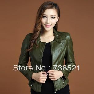 Free Shipping Women's sheepskin genuine leather jacket coat Natural leather slim model leather jacket winter leather jacket