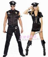 Halloween lovers police uniform female police uniform temptation cosplay costume