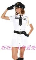 Female pilot female police uniform police uniform ds cosplay costume