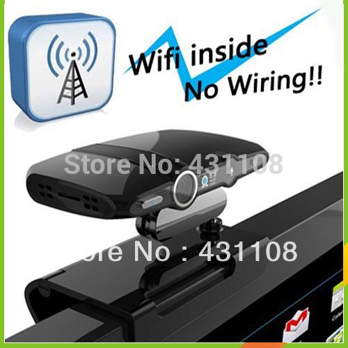 Wholesale Free shipping Best Visual effect Webcam Mini PC AIO HDMI Internet Skype Camera Media Google Smart TV Box(China (Mainland))