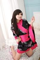 Geisha sexy kimono sauna technicalness ktv work wear clothing bathrobes sleepwear