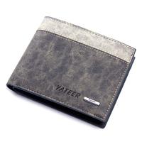 Male cowhide wallet short design genuine leather wallet boys wallet men messenger bags men wallet purse short size