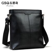 Gsq boutique bag men elegant british style business casual messenger bag shoulder bag