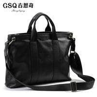 Gsq boutique bag men british style business casual messenger bag shoulder bag handbag briefcase bag