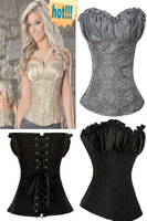20PCS/Lot   DHL/ Fedex   Shipping  Sexy Woman/Girl Corsets Court  Game muticolour Game Body Suits XL size/#629