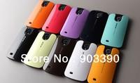 Skyeye case With Card Holder ONEYE VERUS DESIGN LAB case for Samsung Galaxy S4 SIV i9500+free shipping DHL