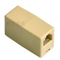 wholesale gold plated version! Quality network connector network through the splitter RJ45 Extender Distributors 100pcs/lots