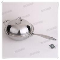 18- 10 304 medical stainless steel wok smokeless buzhanguo yt