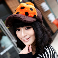 2013 Winter New Fashion Women's Hats Solid Color Black Lady's Caps Sale Acrylic Warm Woman's Headwear Autumn Hat For Female