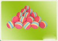 Golf ball, sponge balls, EVA rainbow balls, indoor exercise balls