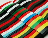 1pc Charming Belts For Women Men Big Buckle Belts Classic Style Reggae stripe Block Candy color belt male Canvas Strap Belts