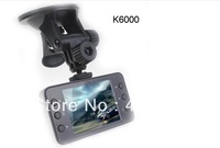 Russia Language K6000 Car DVR HD 1080P Recorder HDMI 25FPS night vision 5MP Camera G-Sensor CMOS Car NOVATEK or SunPlus