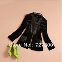 free shipping women autumn-winter fashion coat lady high quality blazers