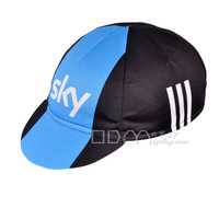 Cycling Equipment,Fashion unisex bicycle cap,Sky cycling team hat,classic black and black blue,free shipping