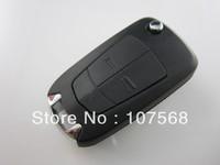 Key 2 Buttons Flip Key Shell Case Opel Astra Corsa Vectra Zafira Omega