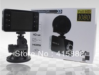 TOP Selling!  K6000 Car DVR with 1080P HDMI 25FPS night vision 5MP Camera G-Sensor CMOS Nocatek+ Fedex/DHL Free shipping