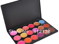 Free Shipping Professional Cosmetic 18Color Gorgeous Lipsticks Lip Gloss Makeup Palette