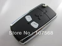 FOB FLIP KEY KEYLESS ENTRY REMOTE KEY CASE FOR MITSUBISHI LANCER EVO 2 Button