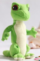 free shipping Limited edition ty green lizard plush toy doll