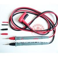 2 Pcs/Set Digital Multimeter Test Lead Probe SMD SMT Needle Tip Precision gold-plated copper needles Multimeters ultra fine tip
