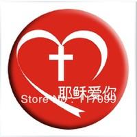 New style  Christmas supplies,Christmas custom brooch, Jesus, free shipping