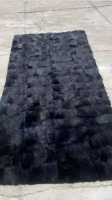 Big sabines skin plate quality mink large clothes fabric material di fur material