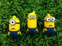 K-088 Wholesale Hot sale - Despicable Me 2 , Dave 4GB - 32GB USB 2.0 Flash Memory Stick Drive U Disk Festival Thumb/Car/Pen Gift