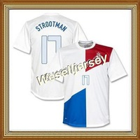 Strootman #17 Netherlands Away White Soccer Jersey 2013-14,Thailand Quality National Soccer Shirt+Player Version