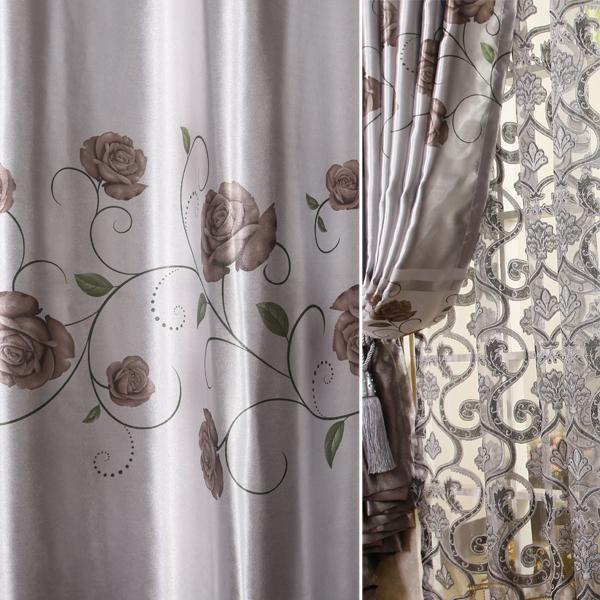 2014 novas cortinas cortinas persianas crianças tule sala de estar cortinas de decoração para janelas voile cortinas de tecido(China (Mainland))