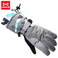Men and women skiing outdoor climbing cycling wind proof more warm winter warm gloves. Free shipping