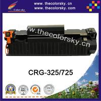 (CS-H285A) Bk laser toner cartridge ceramic toner for canon CRG 525 725 925 LBP 6000 MF 3010 (1,600 pages) Free FedEx