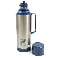 Old fashioned hot water bottle nostalgic thermos household open bottle 2 stainless steel thermos bottle