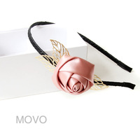 Handmade rose hair accessory accounterment ol commuters headband accessories