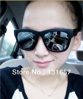 Wholesale 15pcs/lot New 2013 Reflect Light Sunglasses, Box Big Sunglasses For Men/Women.S-037