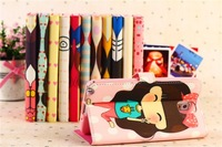 Cartoon Leather Case For Samsung Galaxy Note 3 note iii N9000 Stand Cover Case for Samsung Note III N9000