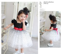 new arrival hotsale free shipping wholesale baby girls ball gown princess dress summer girls clothing children