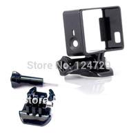 3IN1 Protective Standard Border Frame+Tripod Mount+Camera Screw for Gopro Hero 3