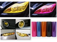 2013 New Hot 12*60 Inch 13 Colors Auto Car Light Headlight Taillight Tint Vinyl Film Sticker  30.48*152