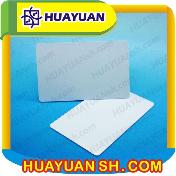 PVC RFID ISO18000 UHF cards,UHF long range card(China (Mainland))