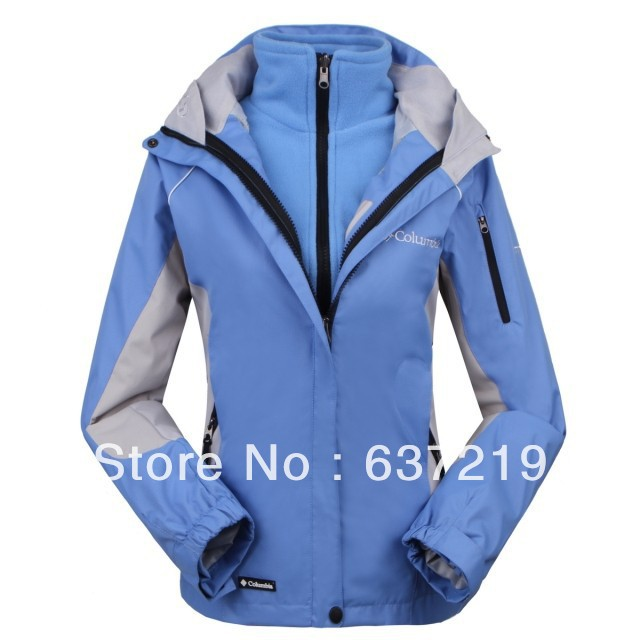 Женская куртка sell women waterproof Mountaineering ski suits jacket Famous brand size s-xxl outdoor jacket 5 colors