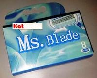 Brand New High Quality Women Girl Female Shaving Razor Blade VEN_S Compatible (8pcs / pack) Free Shipping