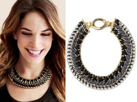 Free nickel New product High-end alloy hand-woven women necklace Western style fashion accessories