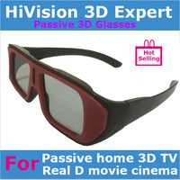 Real D type Circular  polarized 3d glasses+ Fast shipping by Fedex, UPS, TNT or DHL