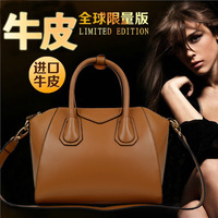 free shipping Genuine leather women's handbag new arrival 2013 women's bags first layer of cowhide women's bag