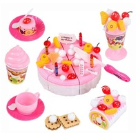 Child birthda gift Large fruit cake qieqie birthday cake toy cake toy Play toy gift box Value