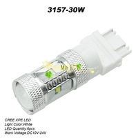 2013 Newest 30W 3157 High Power CREE LED White Reverse Backup Light  10-24V